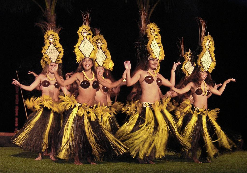 Hawaiian stripper